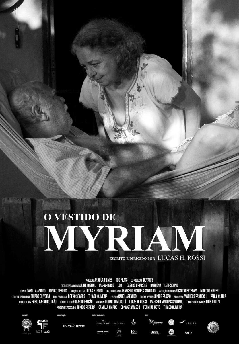 O vestido de Myriam - Cartaz