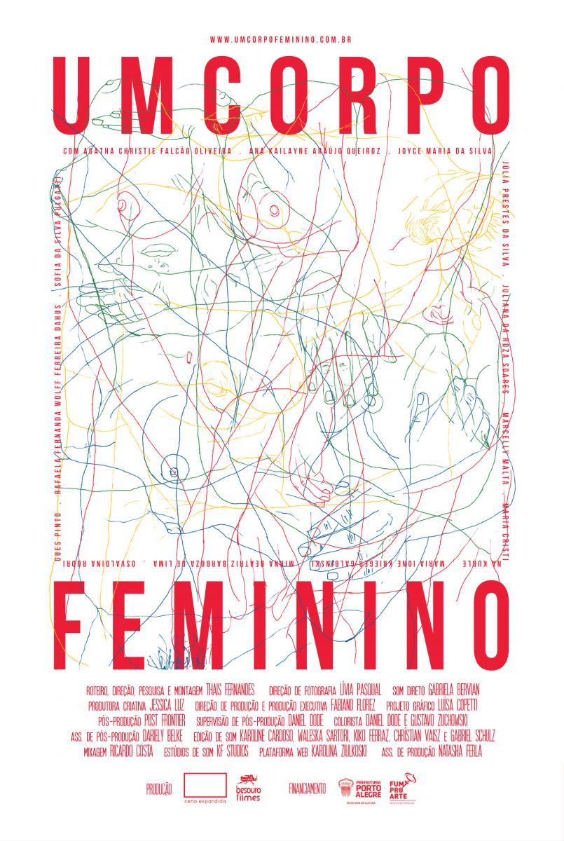Um Corpo Feminino - Cartaz